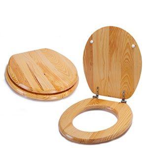 WC Sitz Holz